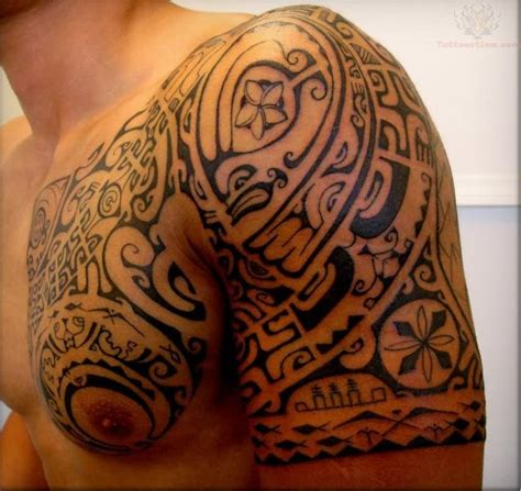 shoulder to chest tattoo designs armor images designs