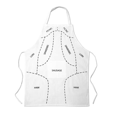 pattern for butchers apron butchers apron prime cuts traditional gifts zavvi com