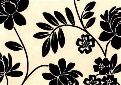 wallpaper black cream perooiiuytr lasari flock wallpaper from