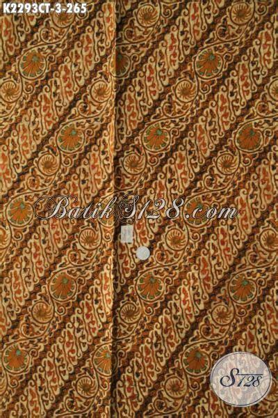 kain batik klasik motif parang bunga kwalitas premium