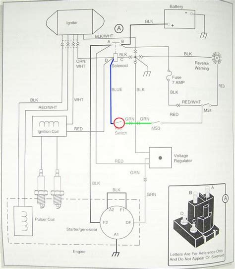 ezgo ignition switch diagram ezgo free engine image for