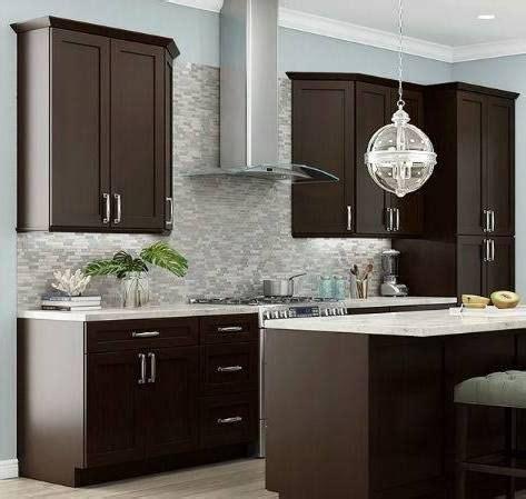 espresso kitchen cabinet 17 best ideas about espresso kitchen cabinets on