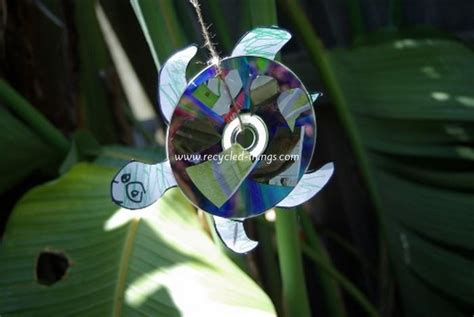 recycled cd crafts for recycled cd projects for recycled things