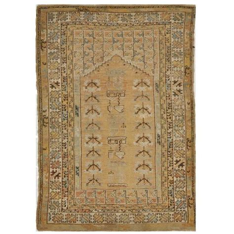 small turkish rug antique small turkish ghiordes rug for sale at 1stdibs