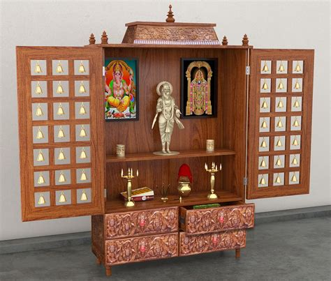 Indian Home Decor Items wooden temple wood mandir puja temple aarsun woods