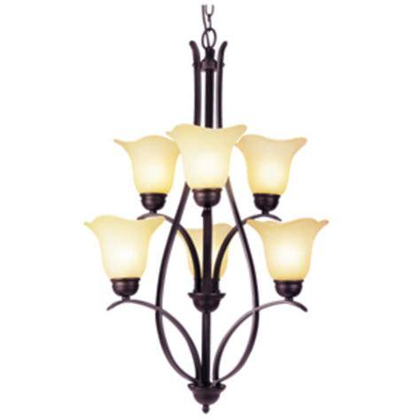 Menards Lighting Chandeliers Patriot Lighting 174 Adalynn 6 Light 23 Quot Rubbed Bronze Chandelier At Menards 174