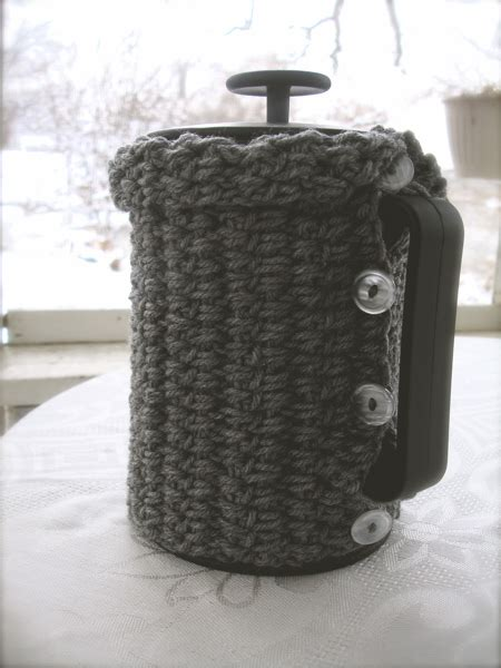 pattern for french press cozy french press cozy chindeep