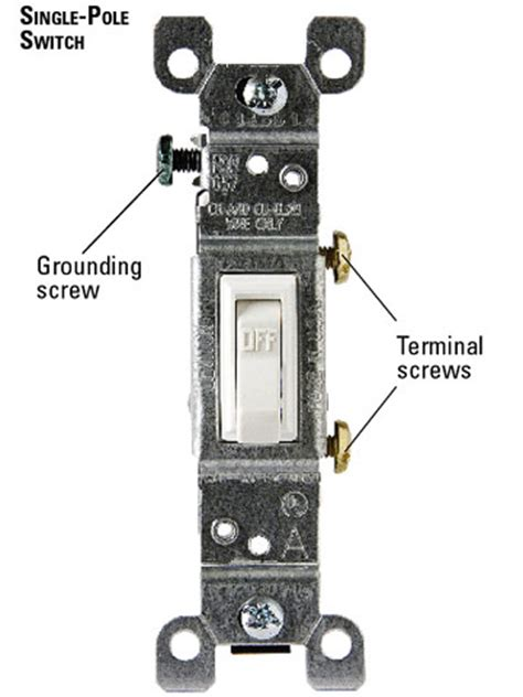 single pole switch wiring diagram for occupancy single