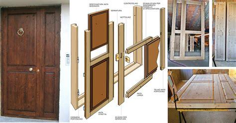 porte fai da te come costruire un portoncino per l ingresso bricoportale