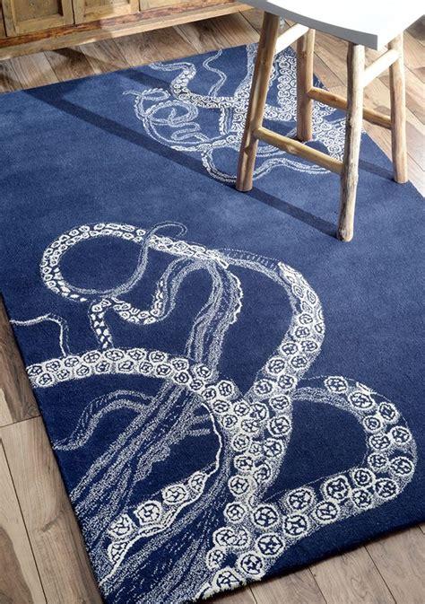 Handmade Rugs Usa - rugs usa octopus navy rug rugs usa summer