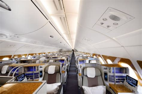 emirates upgrade to business class book luxury first and business class flights online just