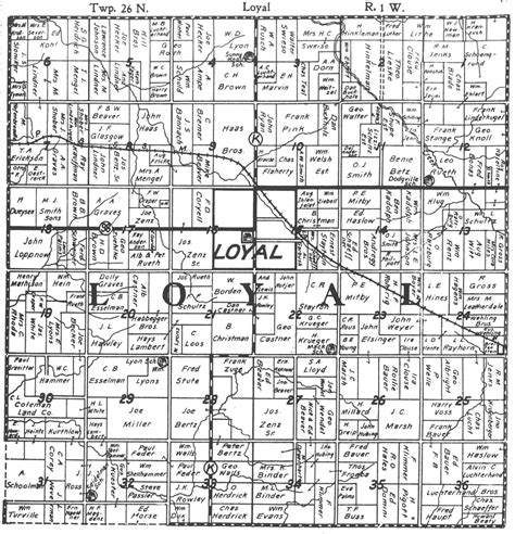 plat maps index of plat maps for loyal township clark co wi