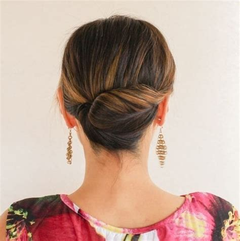 side buns for shoulder length fine hair 27 trendy updos for medium length hair updo hairstyle
