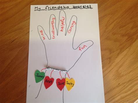 friendship craft ideas card craft activities volume 1 item 74 elsa support