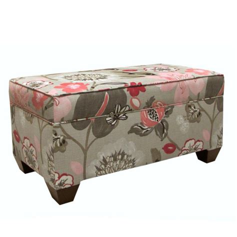upholstered storage bench canada skyline furniture upholstered storage bench in gorgeous