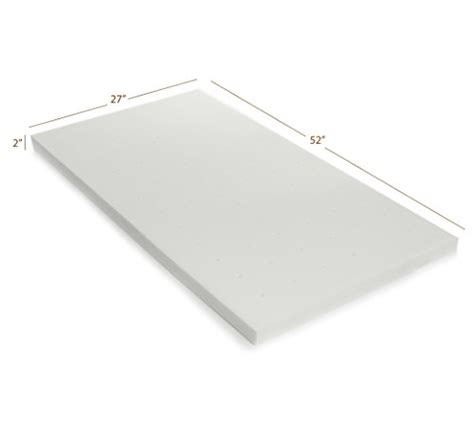 Memory Foam Mattress Crib by Milliard Baby Crib Memory Foam Mattress Topper 5 Best