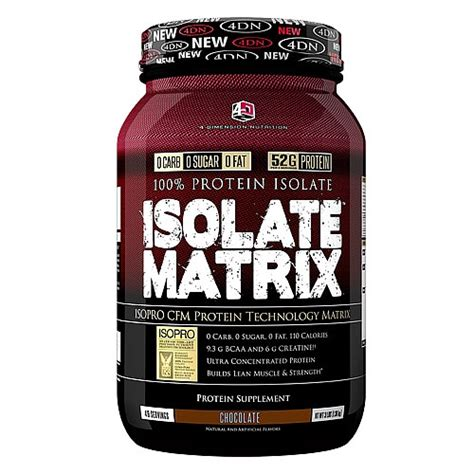 Whey Termurah 4 dimension nutrition isolate matrix 3 lbs suplemen