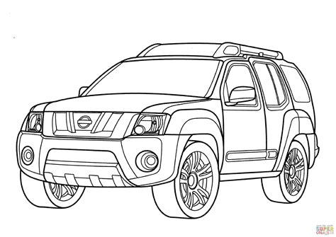 nissan cars coloring pages nissan coloring pages coloring nissan p17 coloring page free printable coloring pages