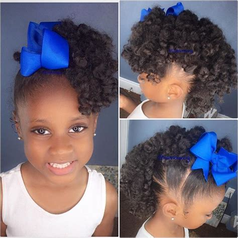 four all so easy natural hairstyles for long hair have a good pin by michelle d on natural hair children pinterest