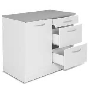meuble de cuisine bas pour 233 vier avec tiroirs 100cm eko