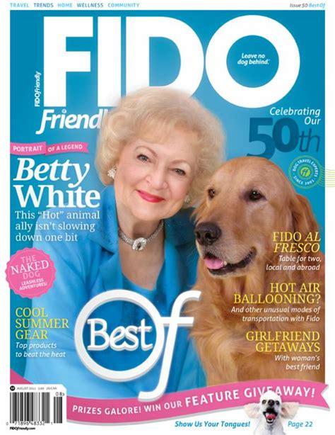 betty white golden retriever white gold fido friendly