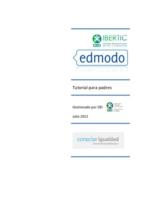 tutorial edmodo 2015 edmodo tutorial padres 2013