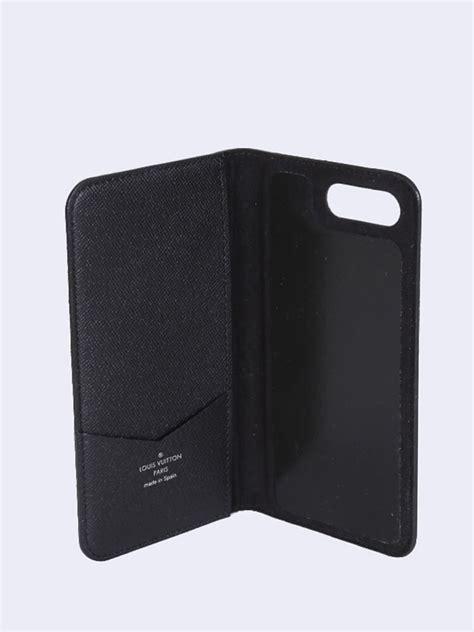 louis vuitton iphone 7 8 plus folio damier graphite canvas luxury bags