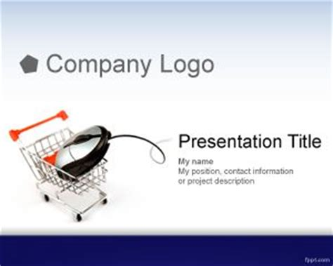 ecommerce powerpoint template