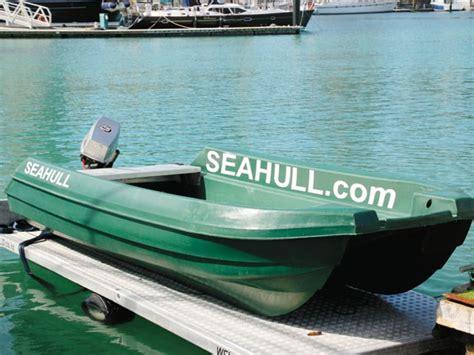 plastic catamaran hull seahull 4 0 catamaran