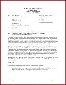 Cover Letter For Nursing School by Sle Letter For Nursing School Admission Cover Letter