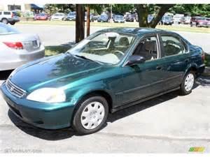 2000 clover green pearl honda civic lx sedan 32340752