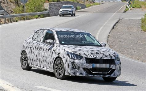 who makes peugeot peugeot 208 makes spyshots debut with striking 508