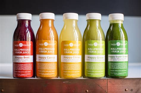 Paket Detox Juice by Kallpressade Ekologiska Juicer Happy M Kitchen