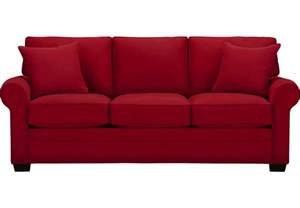 Chandeliers For Sale Cheap Cindy Crawford Home Bellingham Cardinal Sofa Sofas Red