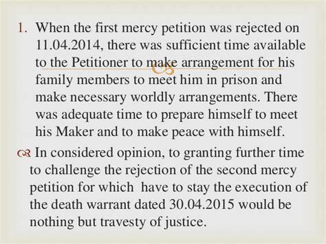execution of bench warrant yakub abdul razak memon v state of maharashtra andor