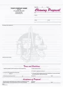 9 best images of free printable cleaning business forms