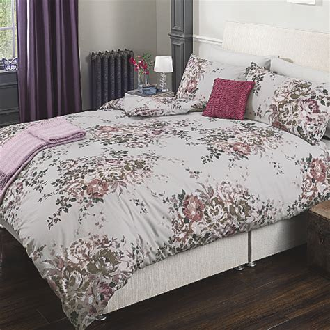 Asda Bedding Sets George Home Purple Floral Bouquet Duvet Set Bedding Asda Direct