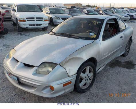 Pontiac 2002 Sunfire by 2002 Pontiac Sunfire Rebuilt Salvage
