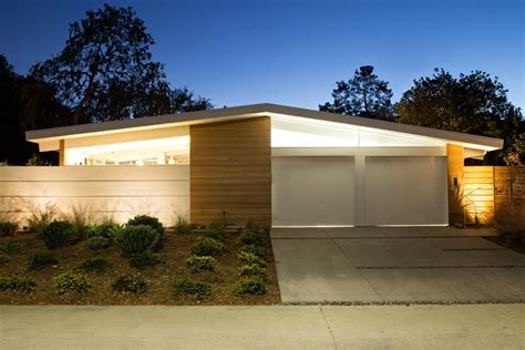 eichler style homes truly open eichler house renovated single family house in
