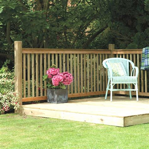 backyard deck kits decking kits for a small area in stock now greenfingers com