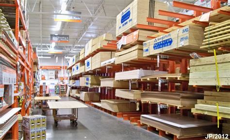 the home depot building materials warehouse store home