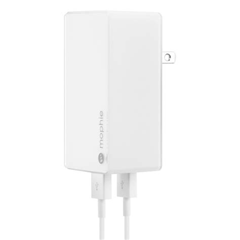 mophie usb charger mophie dual usb wall charger travel 4 2a white