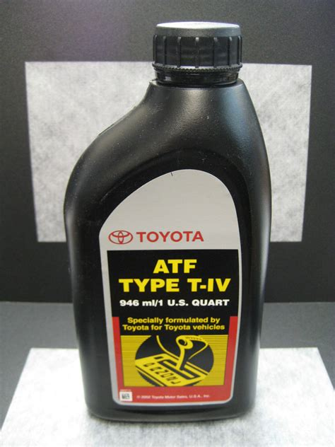 Oli Toyota Atf Type T Iv 4 Liter type t iv automatic transmission fluid for toyota lexus