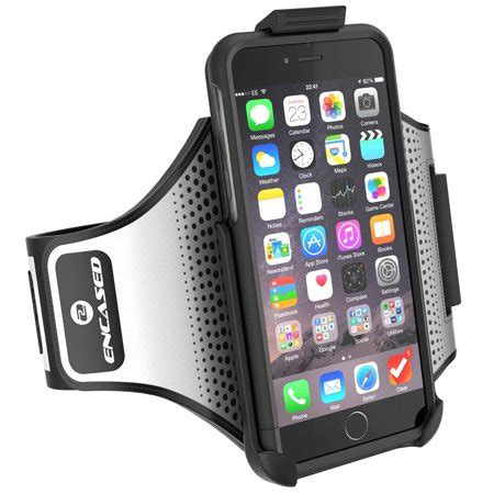 iphone 7 plus 5 5 quot armband s trek secure fit workout band w hybrid sport cover jet