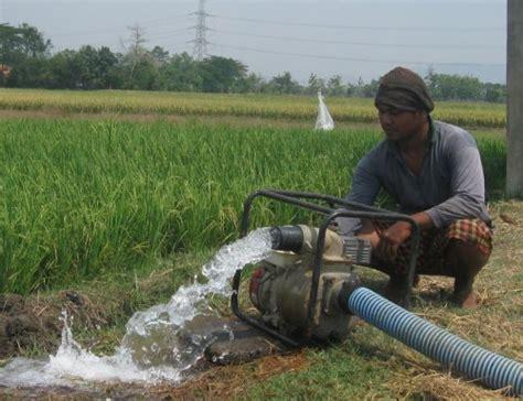 Pompa Air Untuk Sawah petani desa pondok dapat bantuan pompa air desa pondok