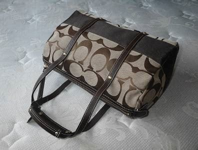 Rur20225 Tas Fashion Import Tote Lv Brown new coach signature striped mahogany brown zip satchel