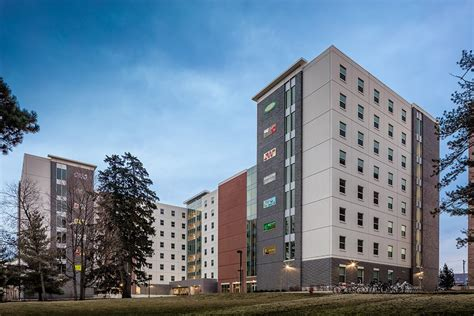 iowa state housing opus completes isu residence hall the opus group