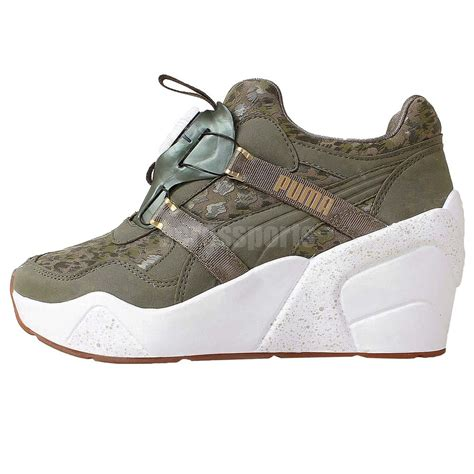 sneakers wedges shoes disc wedge nc wns camo leopard womens wedges sneakers