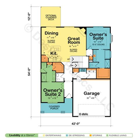 house plans with two master suites one story house plans with two master suites australia