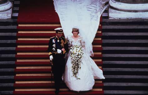 princess dianas wedding dress designer reveals  gown facts